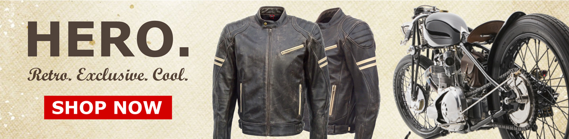 JTS Biker Clothing Hero Motorcycle Jacket