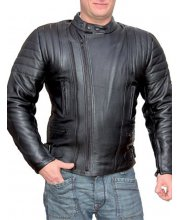 JTS J200 Mens Leather Motorbike Jacket