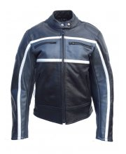 JTS Classic Ladies Leather Motorcycle Jacket