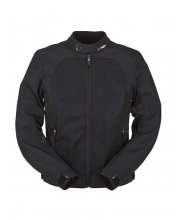 Furygan Genesis Mistral Evo Motorcycle Jacket Black at JTS Biker Clothing