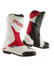 S-Sportour Evo Motorcycle Boots Red