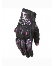 Furygan Graphic Motorcycle Gloves Rose Pink