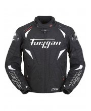 Furygan Wind Textile Motorcycle Jacket Black