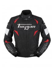Furygan Wind Textile Motorcycle Jacket Red