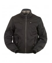 Furygan Denver Textile Motorcycle Jacket Black