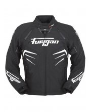 Furygan Skull Textile Motorcycle Jacket White