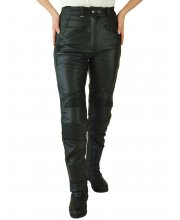 JTS 733 Ladies Leather Motorbike Trousers