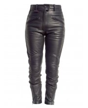 JTS Ladies Madison Leather Motorbike Trousers