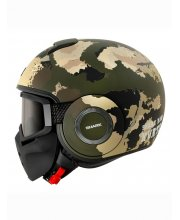 Shark Raw/Drak Kurtz Mat Motorcycle Helmet