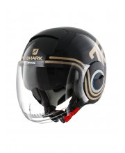 Shark Nano 72 Motorcycle Helmet Gold