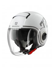 Shark Nano 72 Motorcycle Helmet White