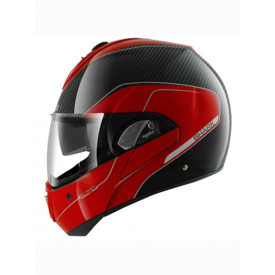 shark evoline pro carbon motorcycle helmet free uk delivery exchanges jts biker clothing. Black Bedroom Furniture Sets. Home Design Ideas