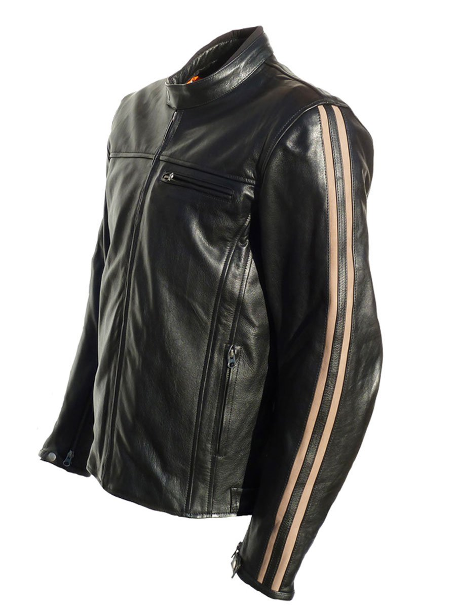 Retro motorcycle leather jackets