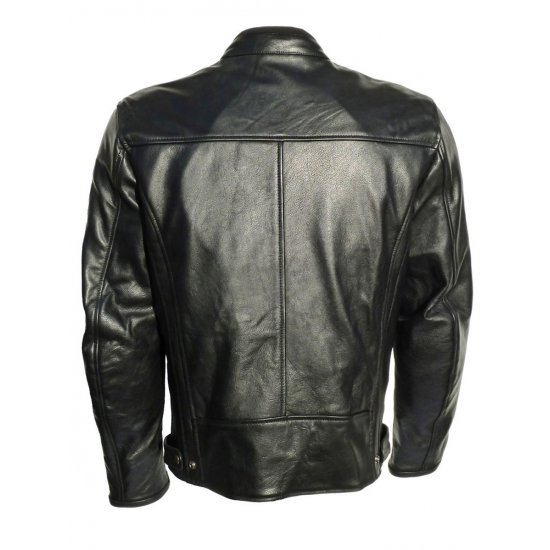 JTS Legion Retro Leather Motorcycle Jacket