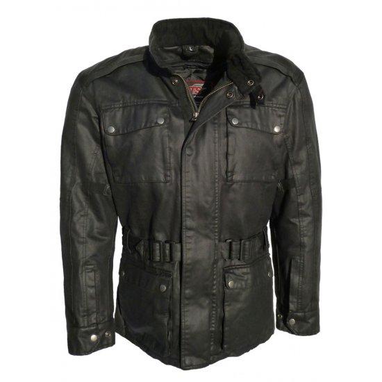 Jts Blade Wax Cotton Textile Motorcycle Jacket Free Uk