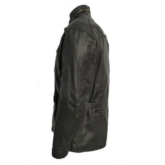 JTS Blade Wax Cotton Textile Motorcycle Jacket