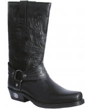 JTS 1111 Ladies Embossed Leather Cowboy Boots