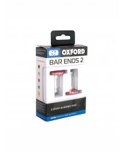 Oxford BarEnds 2 Essential Anodised Flat Bar Ends