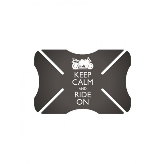 Oxford Bumper Helmet Protector Keep Calm