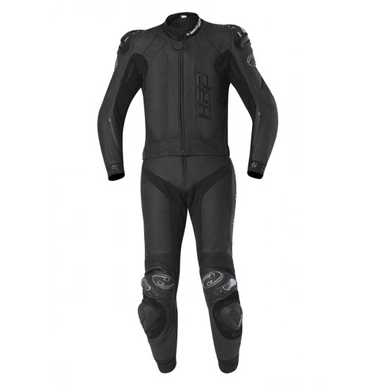 Held Yagusa Two Piece Motorcycle Leathers Black