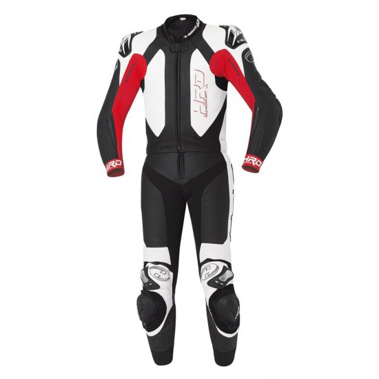 Held Yagusa Two Piece Motorcycle Leathers Red