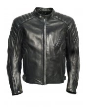 JTS Ridge Mens Leather Motorcycle Jacket