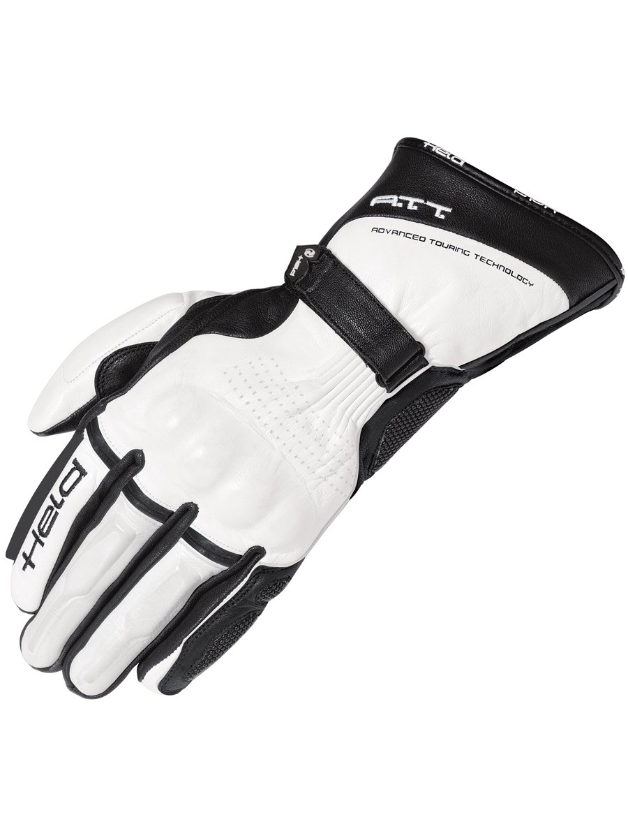 Motorcycle gloves d30 - Held Troy Ladies Motorcycle Gloves White