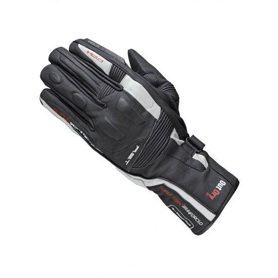 Held Secret Dry Motorcycle Gloves White