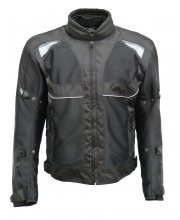 JTS Dual Ladies 3 in 1 Vented Textile Motorcycle Jacket