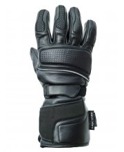 JTS Strike Waterproof Leather Motorcycle Gloves