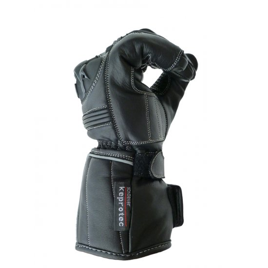 JTS Cobra Leather Motorcycle Gloves