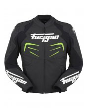 Furygan Power Leather Motorcycle Jacket Green