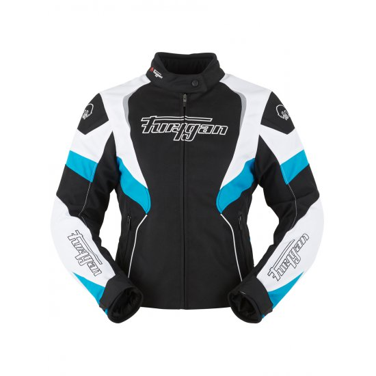 Furygan Xenia Ladies Textile Motorcycle Jacket Blue