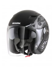 Shark RSJ Hotspur Motorcycle Helmet Matt Black