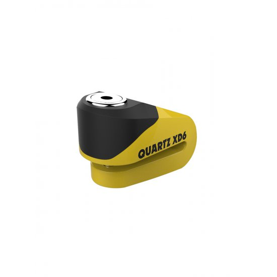 Oxford Quartz XD6 Motorcycle Disc Lock Yellow
