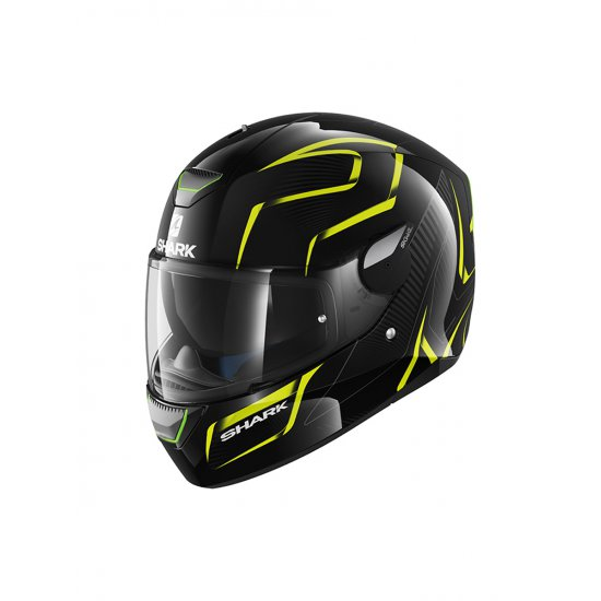 Shark Skwal Flynn Motorcycle Helmet Yellow