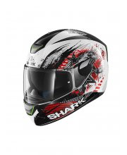 Shark Skwal Switch Motorcycle Helmet Red