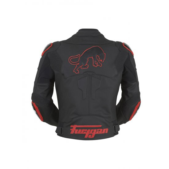 Furygan Raptor Leather Motorcycle Jacket Red