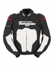 Furygan Raptor Leather Motorcycle Jacket Black