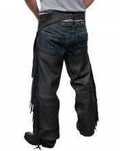 JTS Mens Fringed Chaps