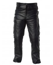 JTS Laced Sided Leather Jean