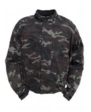 JTS Mash Waterproof Camo Motorcycle Jacket