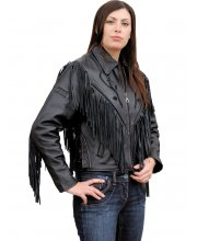 JTS Rose Ladies Leather Motorbike Jacket