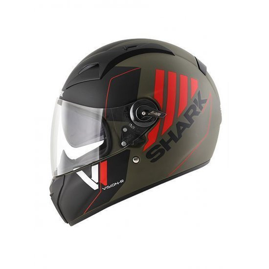 Shark Vision-R Cartney Motorcycle Helmet Green