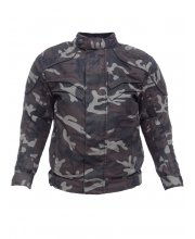 Kids Mash Camo Motorcycle Jacket