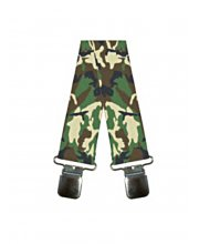 Oxford Rigger Braces Camo Khaki