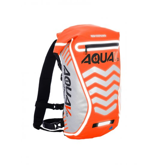 Oxford Aqua V-20 Extreme Visibility Back Pack Orange