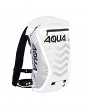 Oxford Aqua V-20 Extreme Visibility Back Pack White