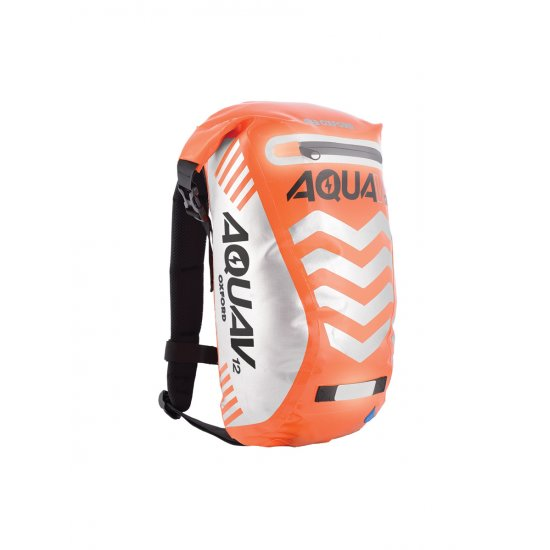 Oxford Aqua V-12 Extreme Visibility Back Pack Orange