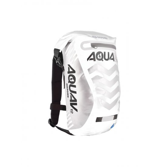 Oxford Aqua V-12 Extreme Visibility Back Pack White